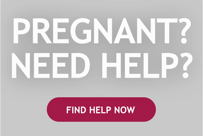 Pregnant? Need help now? button
